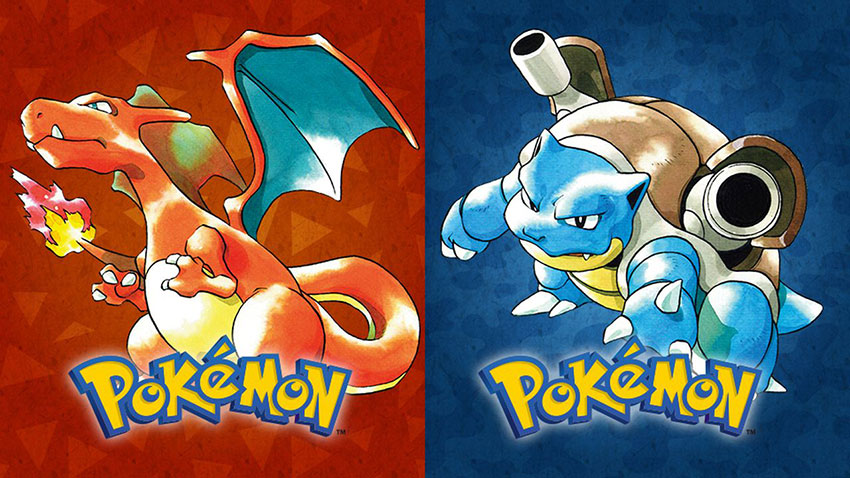 Pokemon Red и Blue