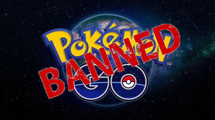 За что банят в Pokemon Go