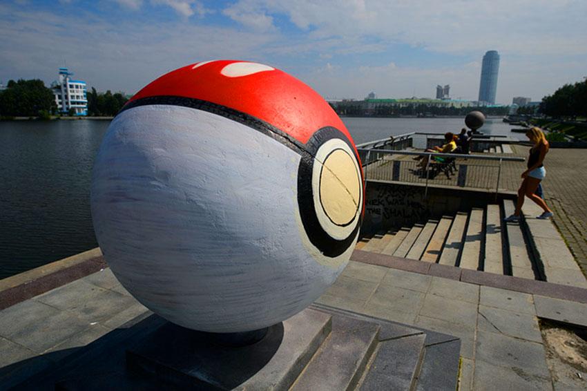 Памятник покеболу в Екатеринбурге скоро исчезнет