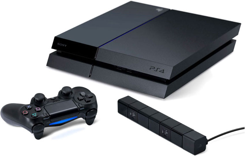 PS4 и Kinect