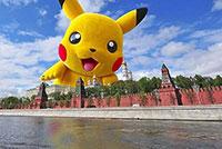 Игра Pokemon Go покоряет мир