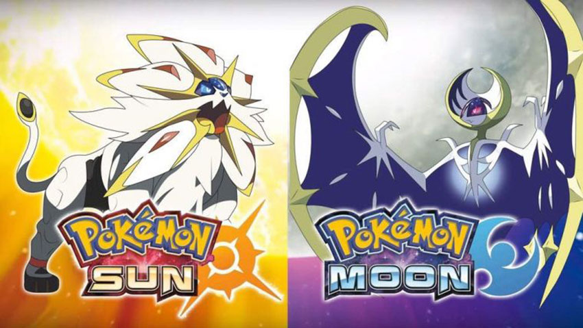 Pokemon sun и moon