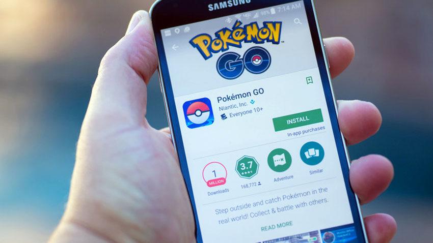 Мобильное приложение Покемон Го