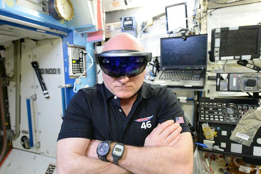 Тестирование очков HoloLens