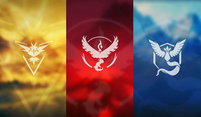 3 фракции в Покемон Го