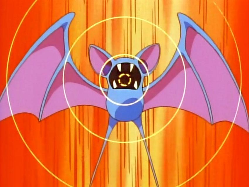 Атака Зубата в Покемон Го