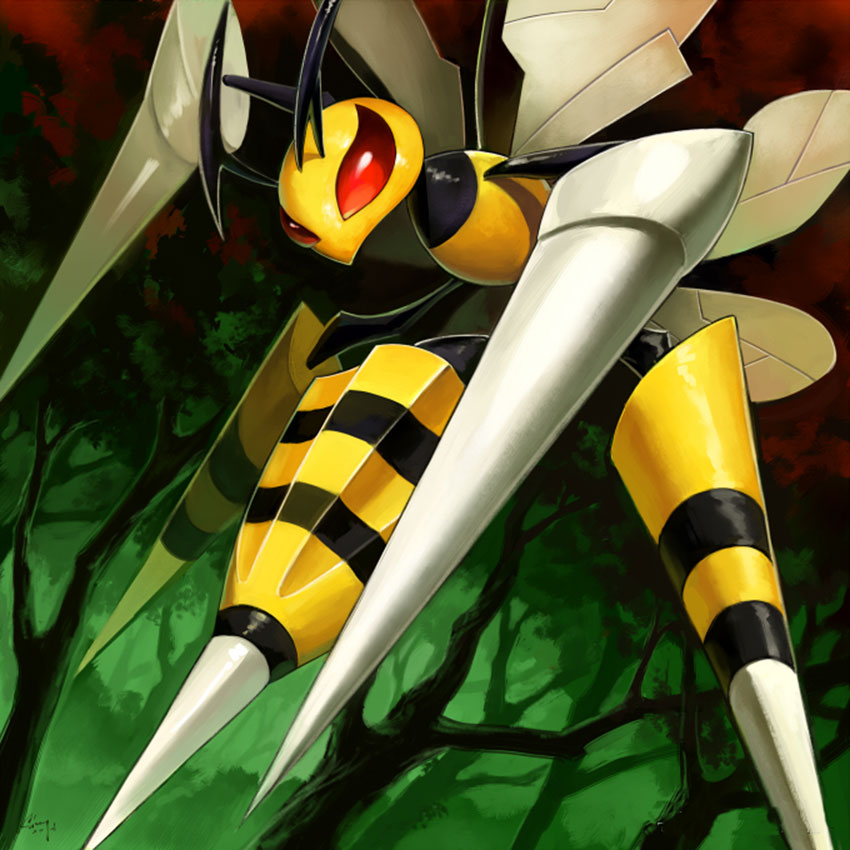 Beedrill Pokemon Go описание