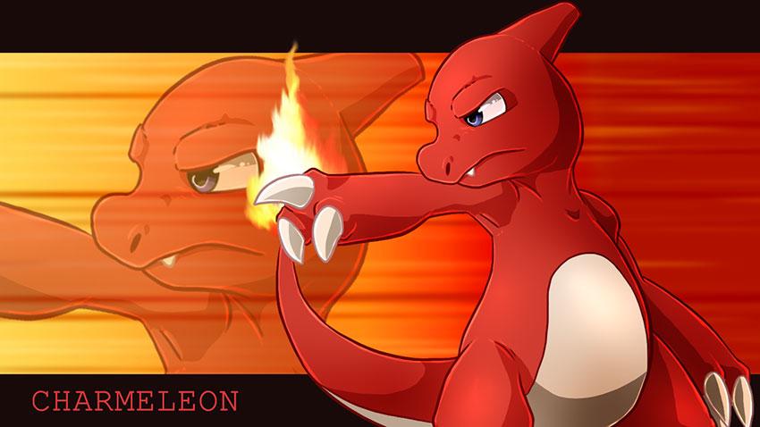 Charmeleon в Покемон го - атака