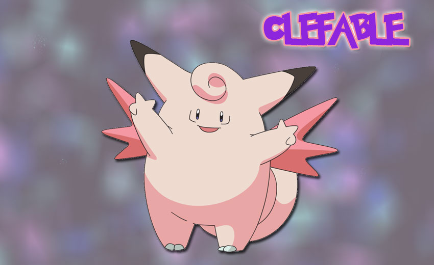 Clefable в Pokemon Go Эволюция Клефейбл в Покемон Го, где найти