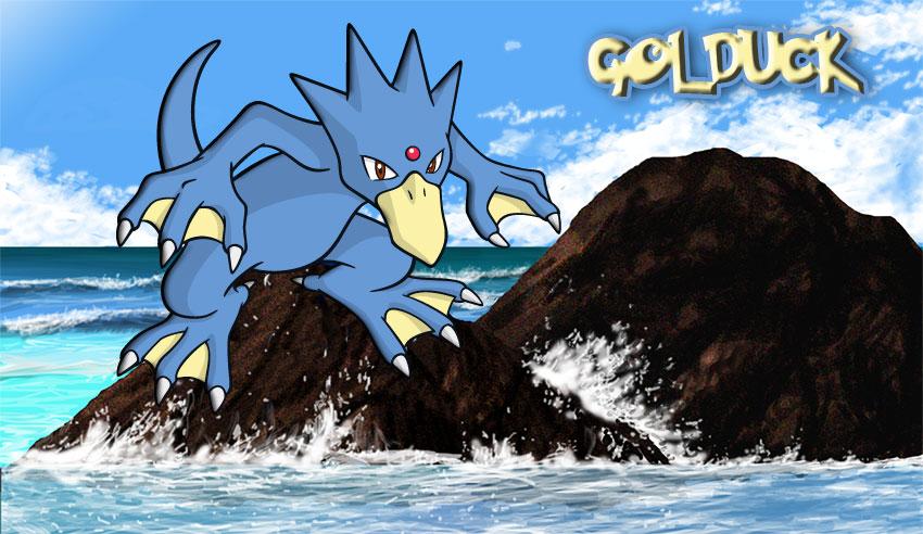 Golduck обзор - Голдак в Покемон Го эволюция, где найти покемона