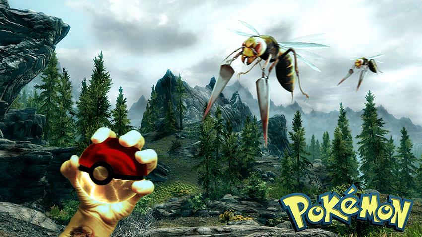 Pokemon go ловля Бидрилла