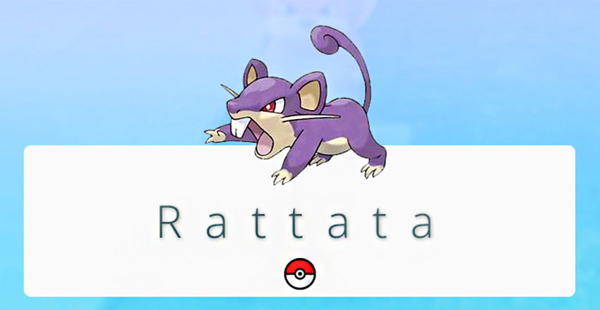 Rattata pokemon go Покемон Раттата