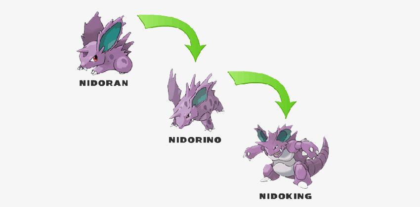 Эволюция Нидокинг в Покемон Го