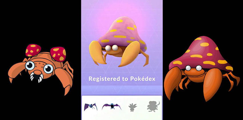 Эволюция Парасекта в Покемон Го - Parasect Pokemon GO
