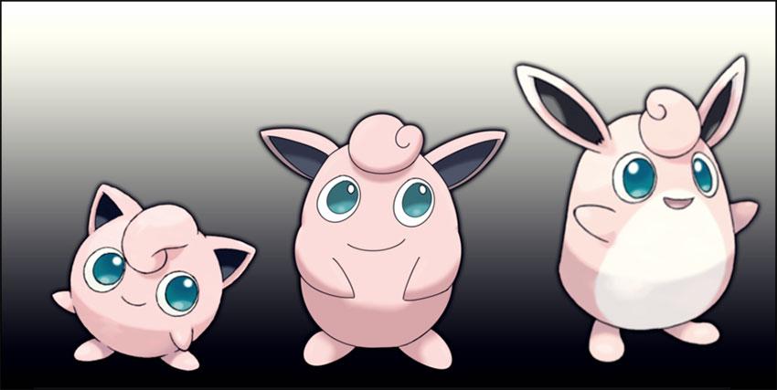 Эволюция Виглитаффа в Покемон Го - Wigglytuff