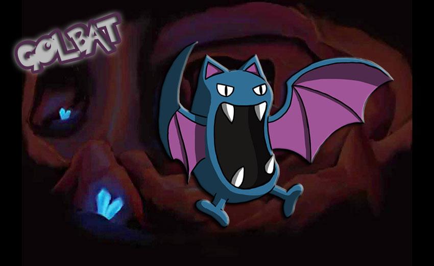 Голбат в Покемон Го - эволюция, где найти Golbat в Pokemon Go 42