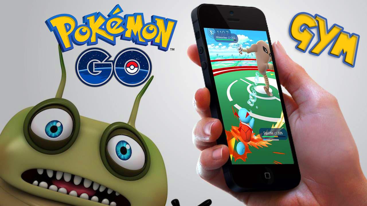 Гим в покемон го - GYM Pokemon Go - тренировочный зал