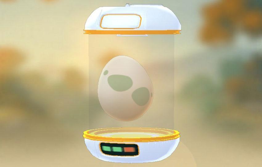 Инкубатор для яиц в Покемон Го