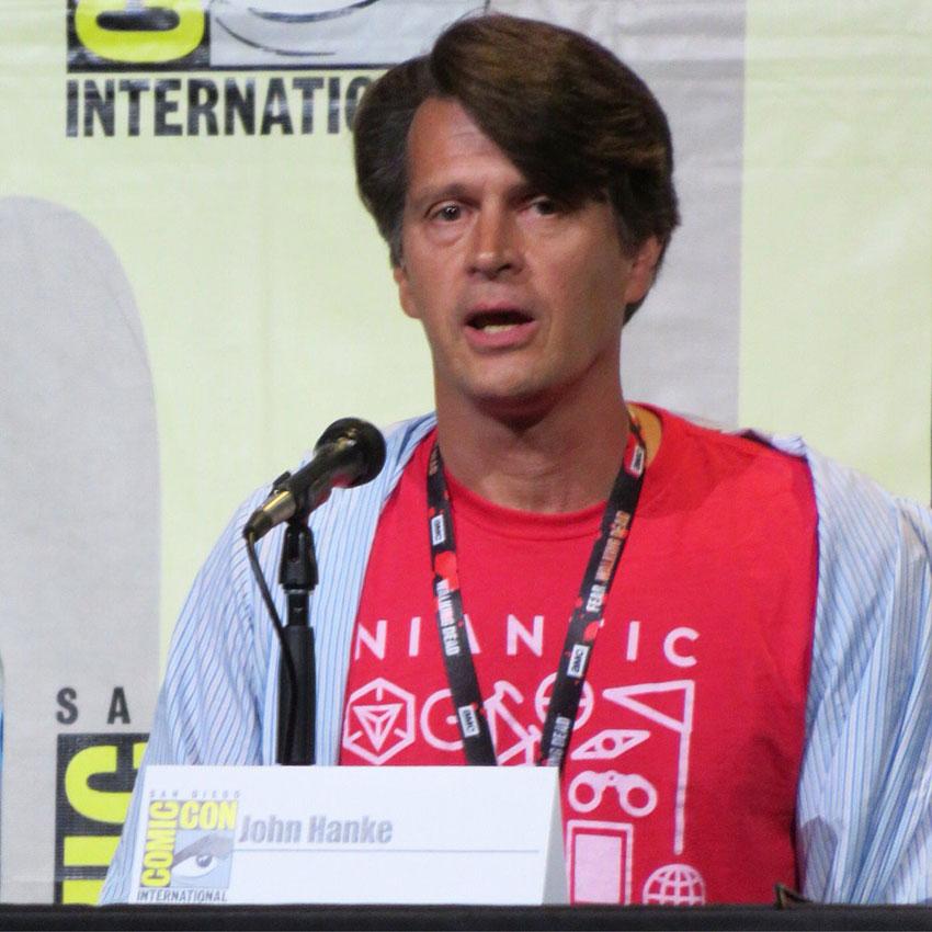 Джон Хэнк об игре Покемон Го на Комик Коне