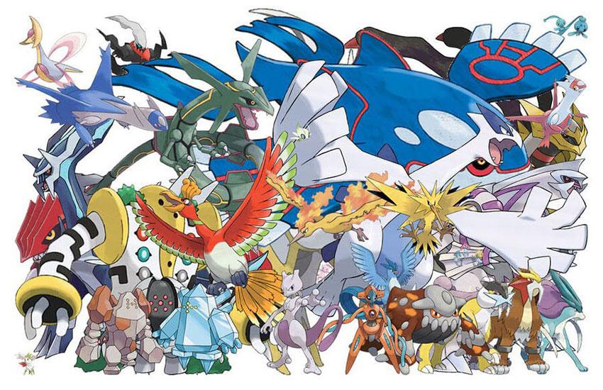 Локации Легендарных покемонов Pokemon go