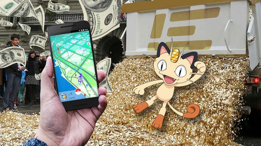 Материальная сторона в Покемон Го - как зарабатывает бизнес на игре Pokemon GO