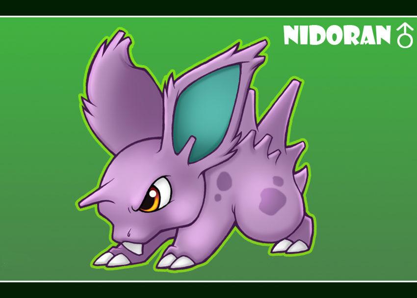 Nidoran самец