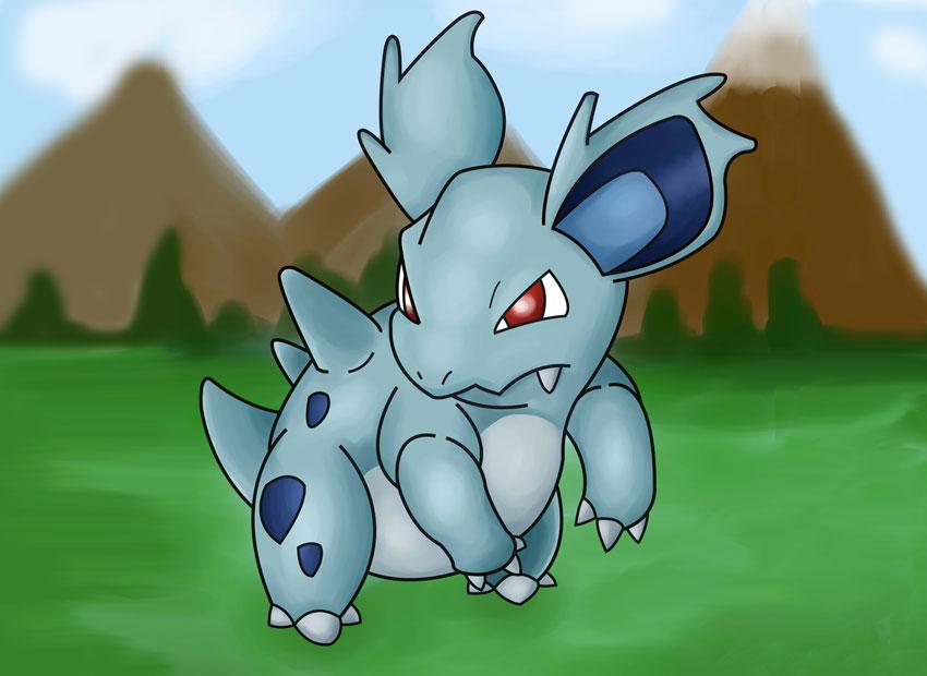 Покемон Нидорина в Покемон Го - Nidorina Pokemon GO № 30