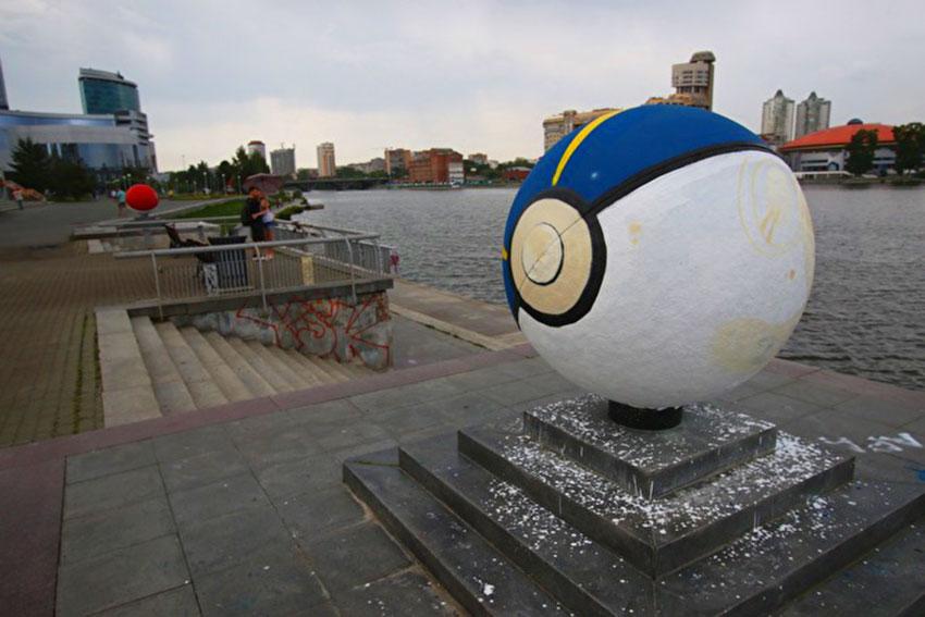 Новый покебол в Екатеринбурге
