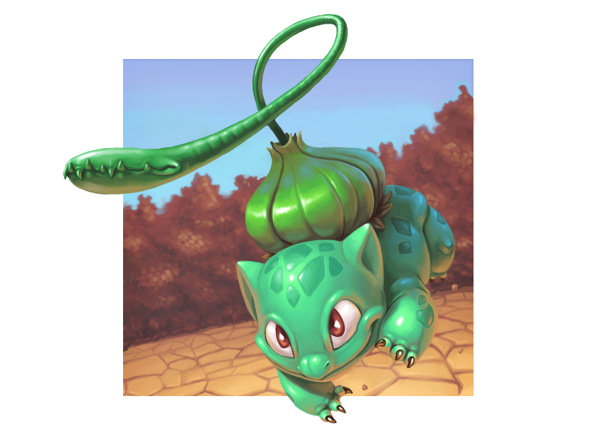 Pokemon GO - Bulbasaur - стадии эволюции - картинка
