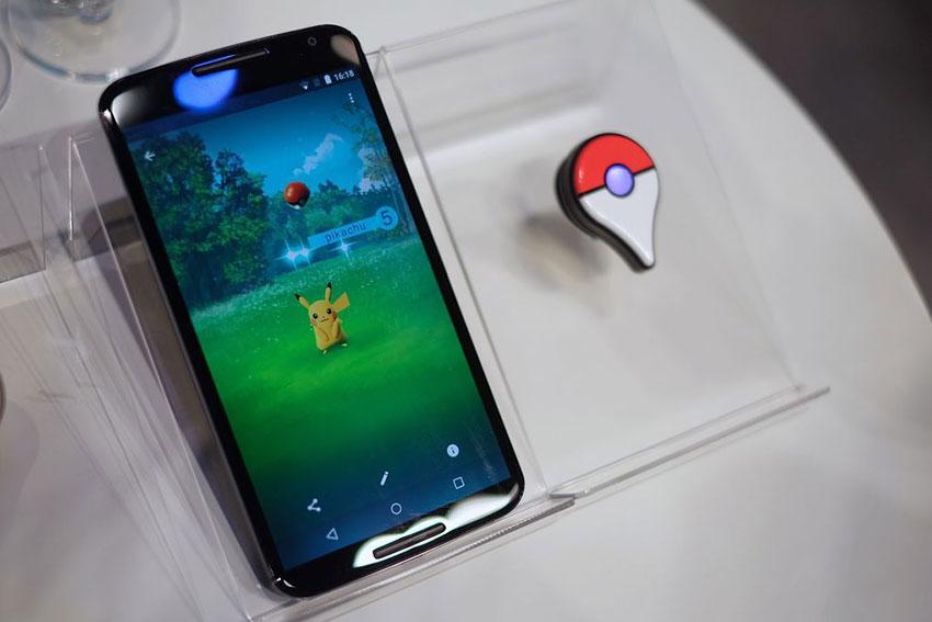 Игра Pokemon Go и браслет Pokemon Go Plus