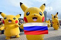 Pokemon go in Russia