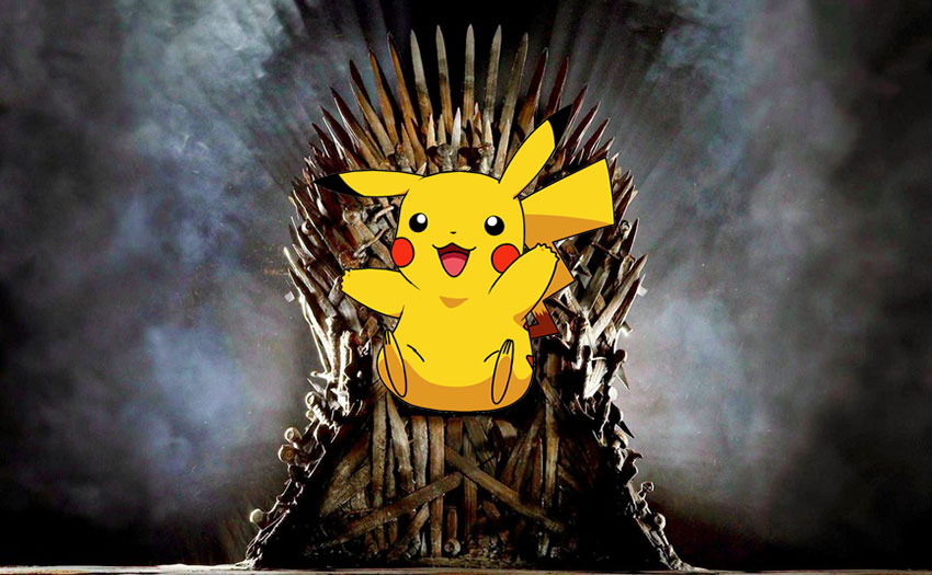 pokemon go популярнее игры престолов