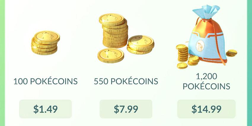 Игровая валюта в pokemon go