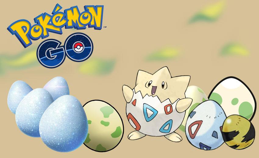Pokemon go яйца в игре Покемон Го - как выращивать и где вязть