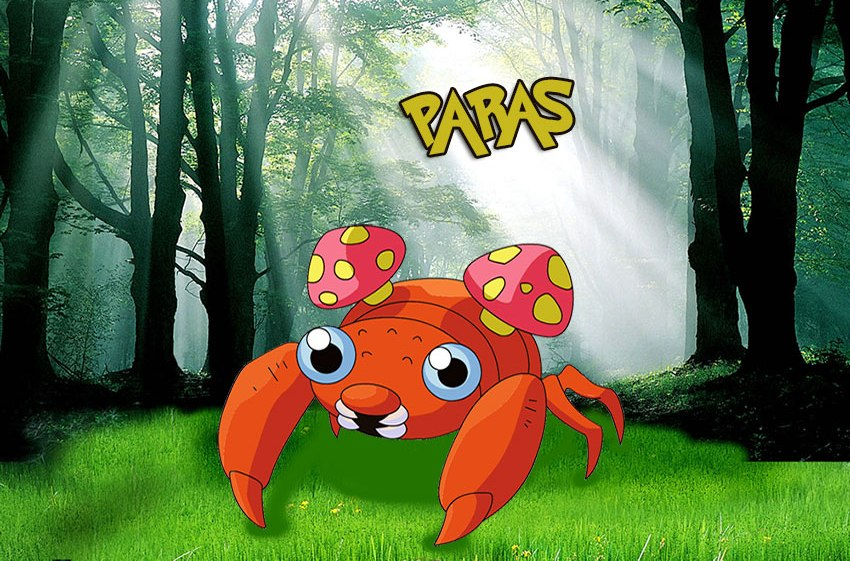 Pokemon Go Paras - Покемон Парас - эволюция, где найти
