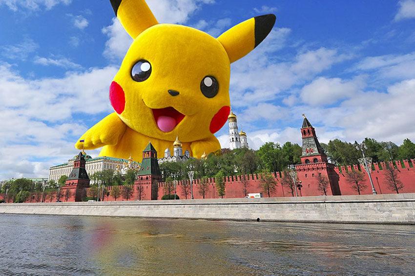 Покемон в Москве