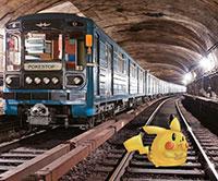 Покемоны в московском метро