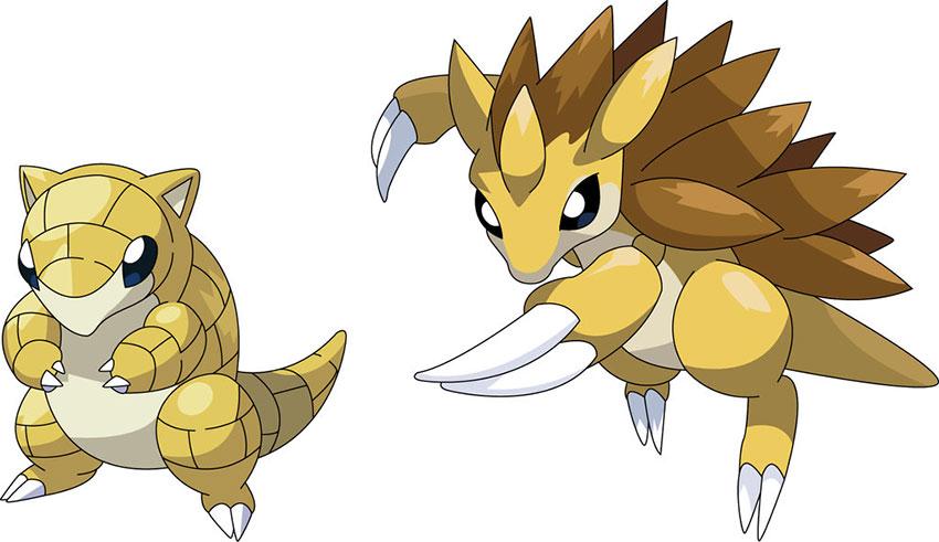 Sandslash эволюция Сэндслэш в Покемон Го