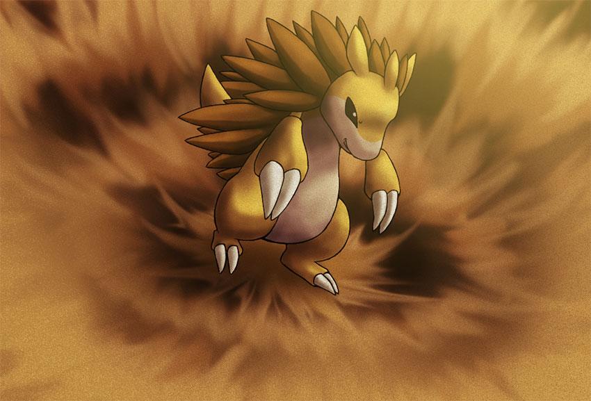 Sandslash pokemon go - атаки Сэндслэш в Покемон Го