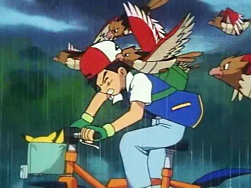Спироу в аниме Покемон