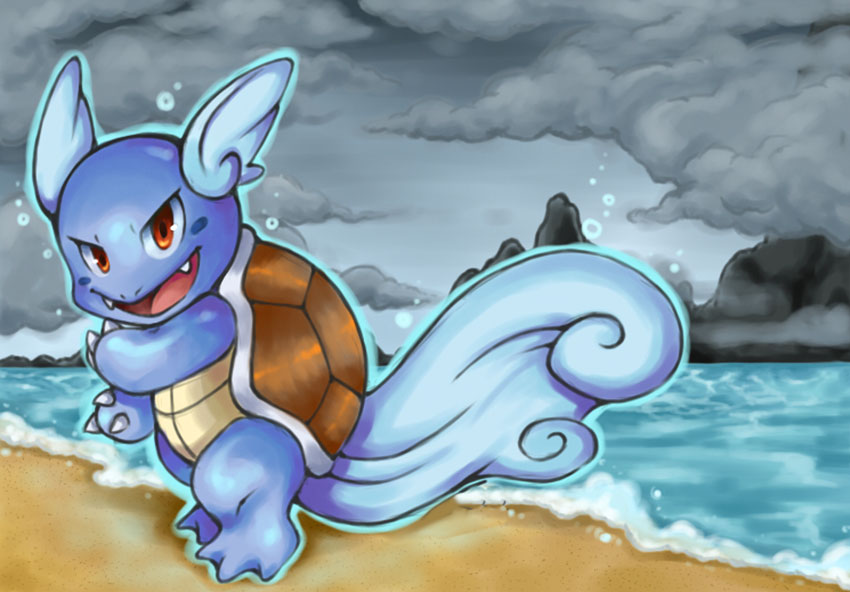 Вартортл в Покемон Го - эволюция Wartortle Pokemon GO № 008