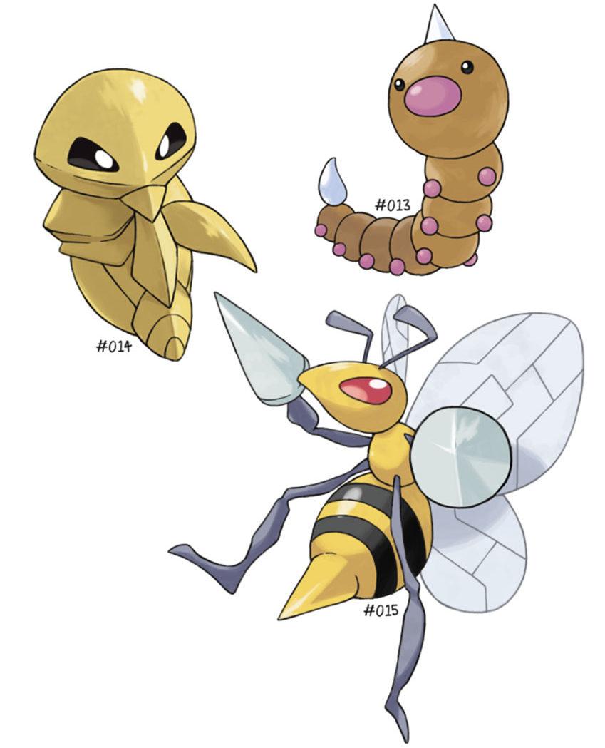 Покемон Какуна - стадии эволюции, где и как найти Pokemon GO