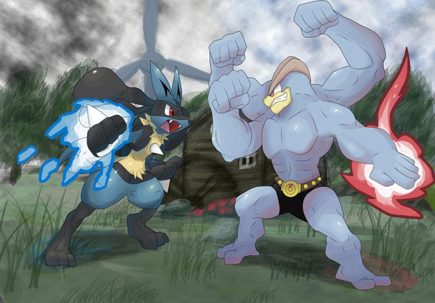Атаки Мачампа в Покемон Го - Machamp