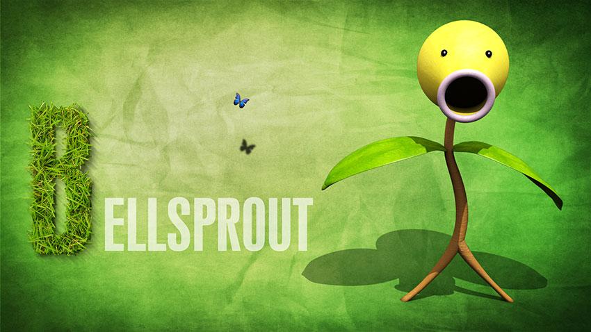 Bellsprout описание, фото и картинки покемона Беллспраута