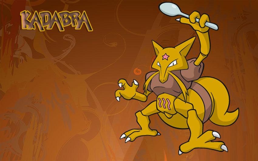 Kadabra - Кадабра в Покемон Го - эволюция, где найти, фото