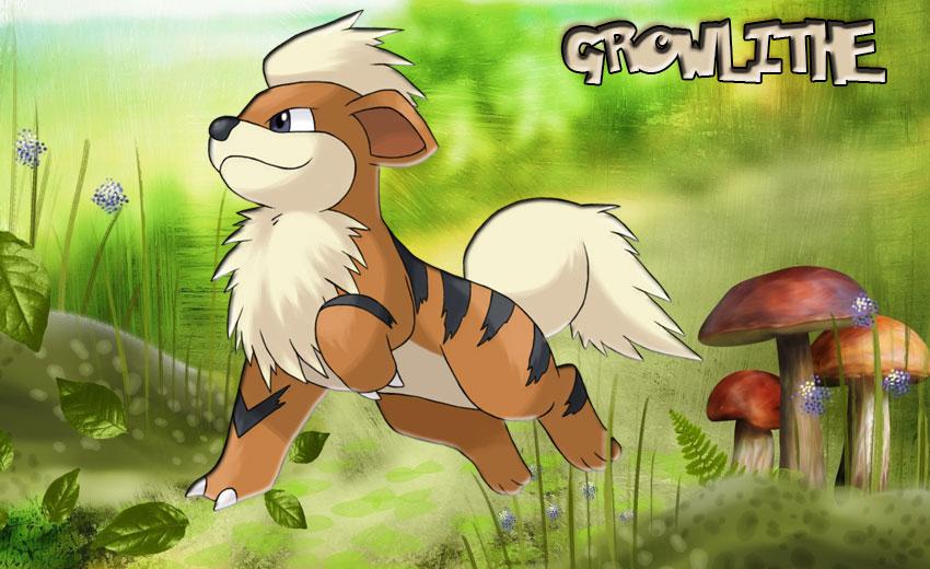 Гроулит в Покемон Го - эволюция, где найти - Pokemon Growlithe обзор
