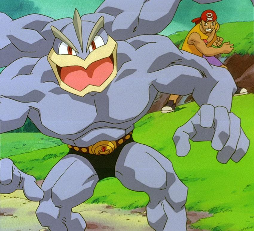 Pokemon Machamp - фото и картинки покемона Мачамп