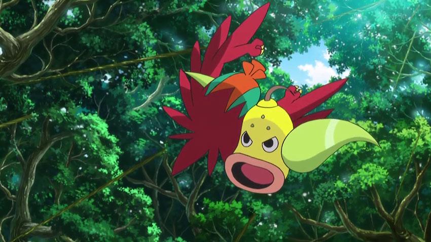 Pokemon Weepinbell - фото покемона Випинбелл