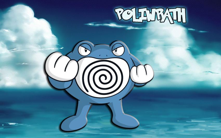 Поливрат в Покемон Го - эволюция, где найти Poliwrath