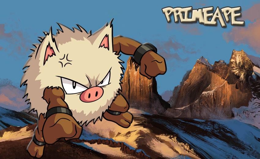 Праймейп в Покемон Го эволюция, где найти Primeape